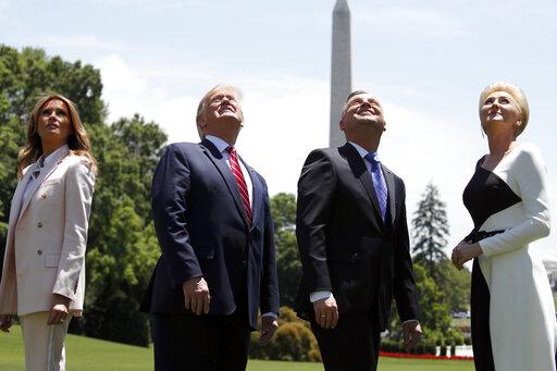 Donald Trump  Andrzej Duda  Melania Trump  Agata Kornhauser-Duda