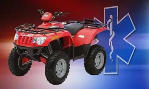 Two hurt in ATV crash near McFall