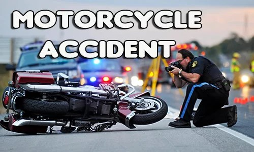 Motorcyclist struck in face by debris on Highway 36