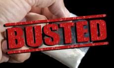 Drug busted