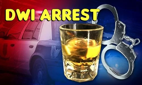 Two hurt in Sunday rollover crash near Cameron, 1 arrested for DWI
