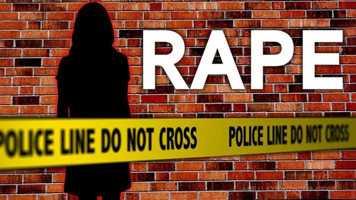 Rape news graphic