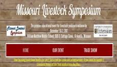 Missouri livestock symposium