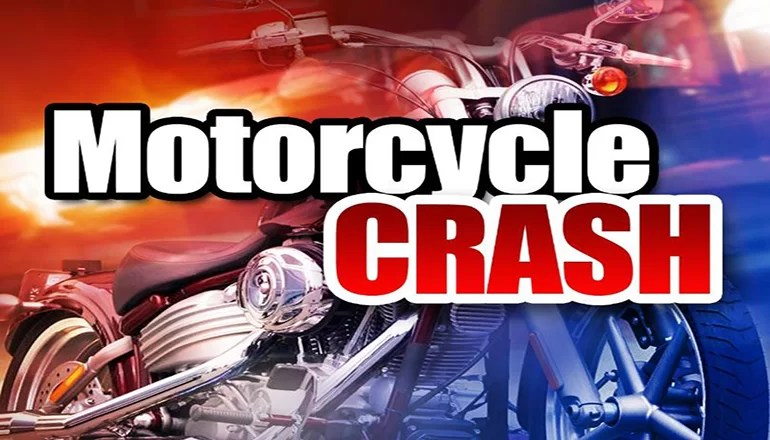 Trenton man injured in motorcycle crash