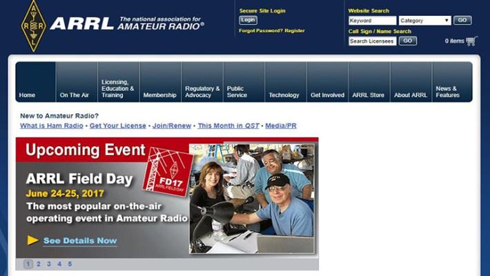National Association Amateur Radio Website
