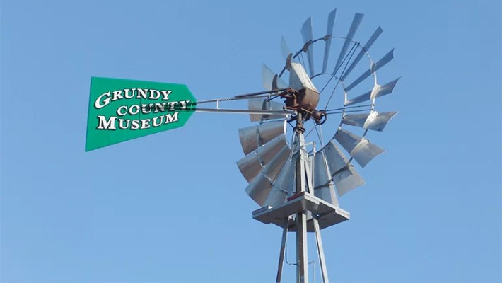 Windmill at Grundy County Museum