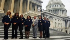 Chillicothe FFA Members attend conference in Washington