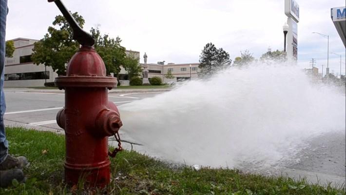Fire Hydrant Flushing