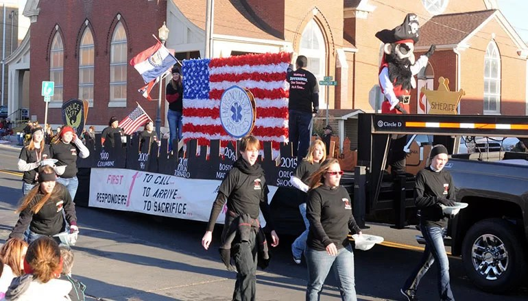Seventy eight entries and 19 bands confirmed for Missouri Day Parade on Saturday