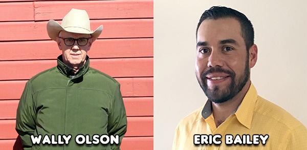 Wally Olson and Eric Bailey