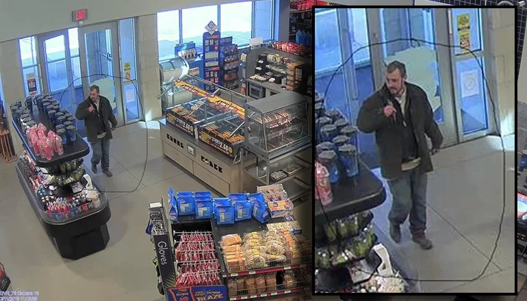 Livingston County Sheriff seeks public assistance in identifying man involved in burglary and theft of pickup