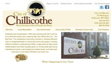 City of Chillicothe Website