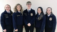Trenton FFA Members compete in Ag Sales Events