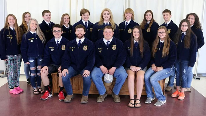 Back L to R – Molly Jones, Cameron Moore, Austin Case, Elena Boon, Isaiah Boon, McKenzie Anderson, Drew Toedebusch, Marley Anderson, Christian Reed, Claire Shipp Front L to R – Gracie Ellis, Ben Hayen, Adler Marshall, Eric Davis, Liberty Cox, Kaylie Campbell, Emilee Haley Not Pictured – Lane Peters