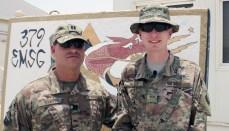 Captain William Sarti and Son Matthew Miller