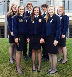 FFA Members attend Public Speaking Academy