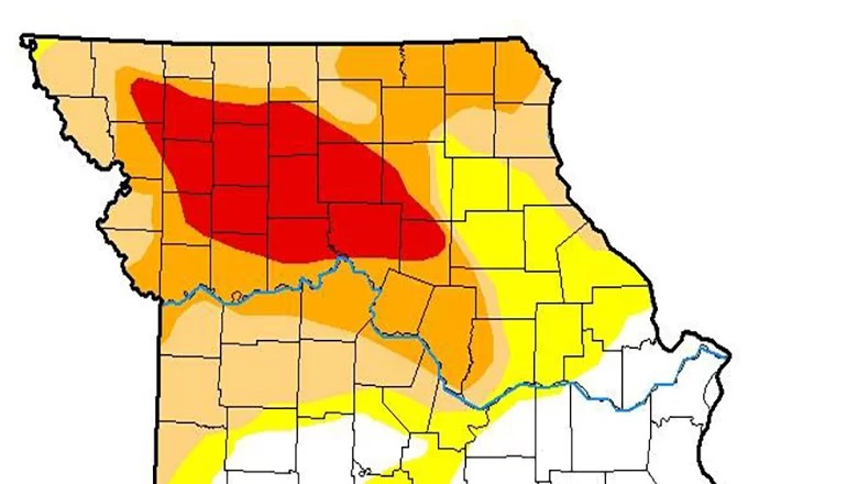 "Audio: Climatologist says Missouri is the ""bullseye"" of the drought"