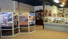 Galt Spickard PV Laredo cases at Grundy County Museum