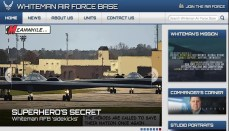 Whiteman Air Force Base Website