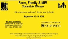 Farm, Family and ME Ag event for women