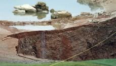 Sinkhole in Missouri