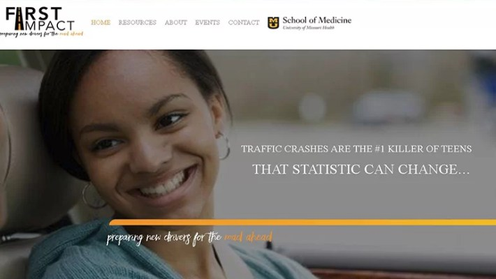 First Impact Driving Program Website