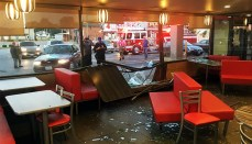 Man Crashes Through Hardees in Macon, Missouri