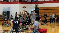 NCMC Wheelchair Basketball