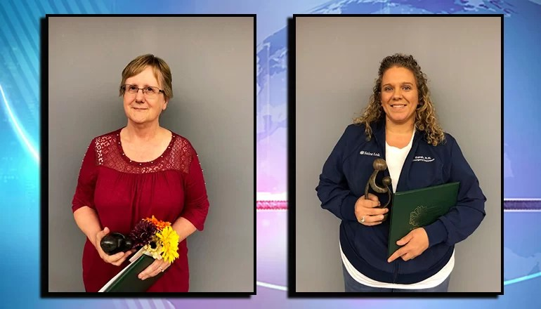 Two area nurses receive DAISY Award