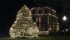 Missouri Governor's Mansion Tree Lighting