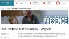St. Francis Hospital in Maryville