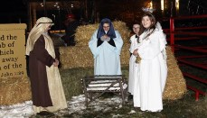 Wright Memorial Living Nativity
