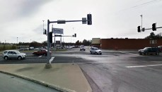 9th and Oklahoma intersection Trenton