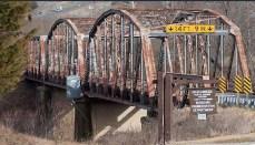 Bridge in poor condition