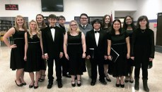 12 from THS participate in Honor Choir