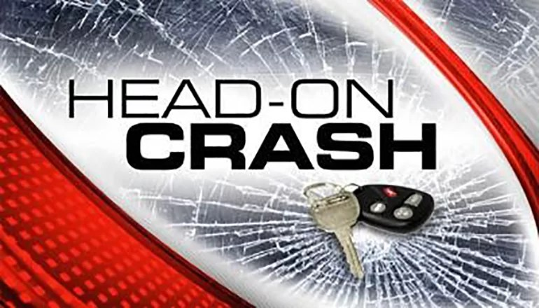 Head-on crash in Harrison County injures two