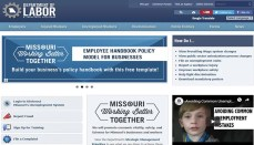 Missouri Department of Labor Website