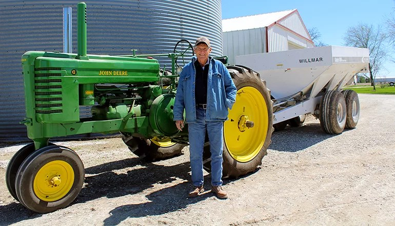 Missouri farmer inducted into Missouri Soybean Hall of Fame