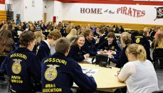 2019 FFA officer training at NCMC