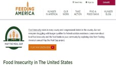 Feeding America Website