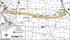 Grain Belt Express Route Map