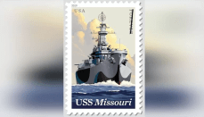 USS Missouri Forever Postage Stamp