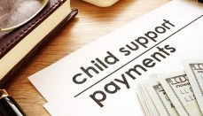 Child support payments.