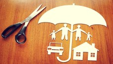Paper Cutout of family (Insurance)