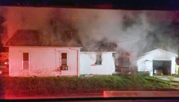Monday morning fire on Main Street Trenton 9-23-19