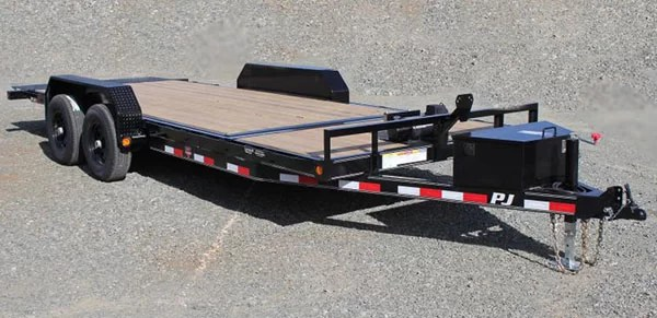 20 foot PJ Trailer with winch