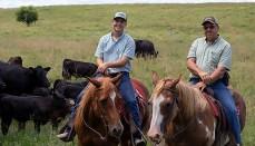 Ayers Family on Horses
