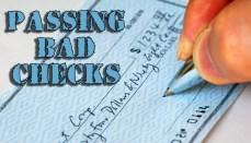 Passing Bad Checks Graphic