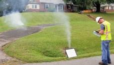 Sewer System Smoke Testing