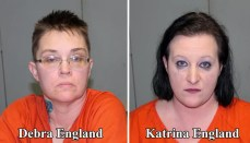 Debra England (Left) and Katrina England (Right)
